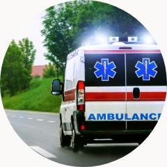 ambulans jadący nasygnale